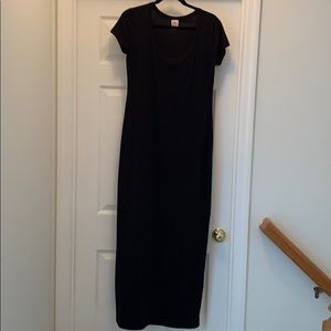 Mossimo Supply Co. Short-Sleeve Maxi Dress Size L